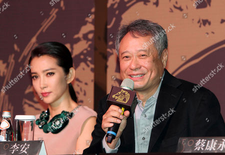 Ang Lee Taiwanese director Ang Lee, right, answers a reporter's question as Chinese actress Li Bing Bing, left, listens during a media event for the 50th Golden Horse Awards in Taipei, Taiwan, . Academy Award-winning director Ang Lee believes the modest clout of the premier awards for Chinese-language films will grow as the market for such films increases
