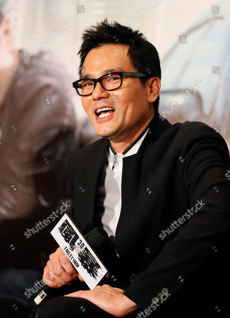 """Gordon Lam Hong Kong actor Gordon Lam speaks during a press event for his latest film """"Firestorm"""" in Taipei, Taiwan"""