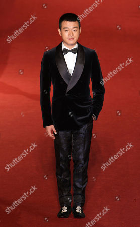 """Tong Dawei Chinese Actor Tong Dawei arrives at the 50th Golden Horse Awards in Taipei, Taiwan, . Tong is nominated as Best Supporting Actor for the film """"American Dreams In China"""" at this year's Golden Horse Awards, one of the Chinese-language film industry's biggest annual events"""