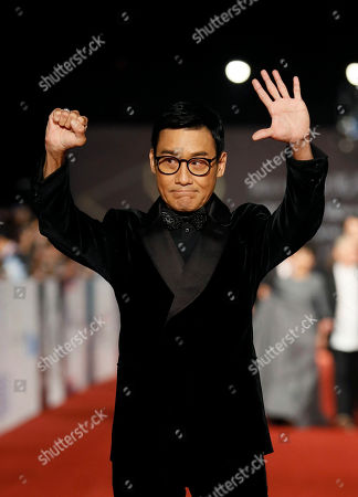 """Tony Leung Ka Fai Hong Kong actor Tony Leung Ka Fai arrives at the 50th Golden Horse Awards in Taipei, Taiwan, . Leung is nominated as Best Leading Actor for the film """"Cold War"""" at this year's Golden Horse Awards -one of the Chinese-language film industry's biggest annual events"""