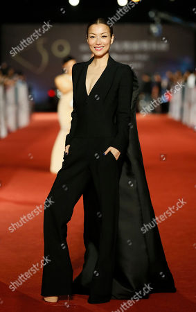 """Sammi Cheng Hong Kong actress Sammi Cheng arrives at the 50th Golden Horse Awards in Taipei, Taiwan, . Cheng is nominated as Best Leading Actress for the film """"Blind Detective"""" at this year's Golden Horse Awards -one of the Chinese-language film industry's biggest annual events"""