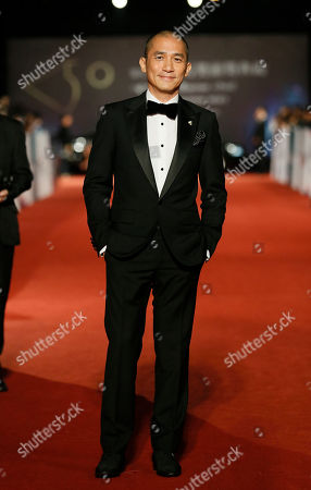 """Tony Leung Chiu Wai Hong Kong actor Tony Leung Chiu Wai arrives at the 50th Golden Horse Awards in Taipei, Taiwan, . Leung is nominated as Best Leading Actor for the film """" The Grandmaster"""" at this year's Golden Horse Awards -one of the Chinese-language film industry's biggest annual events"""