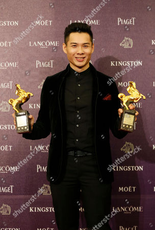 "Anthony Chen Singapore director Anthony Chen holds his awards and poses for media for Best New Director and the Best Original Screenplay at the 50th Golden Horse Awards in Taipei, Taiwan, . Chen won for the film "" Ilo Ilo "" at this year's Golden Horse Awards - the Chinese-language film industry's biggest annual events"