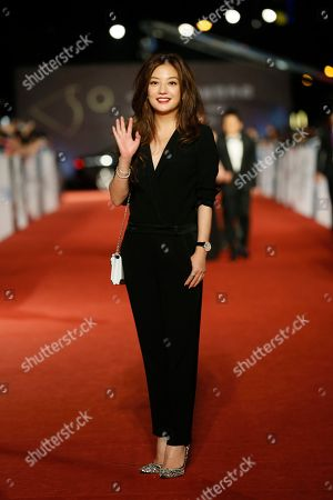 Vicky Zhao Chinese actress Vicki Zhao poses on the red carpet at the 50th Golden Horse Awards in Taipei, Taiwan, . Zhao is a guest at this year's Golden Horse Awards, one of the Chinese-language film industry's biggest annual events