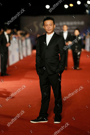 """Lee Kang Sheng Taiwanese actor Lee Kang Sheng arrives at the 50th Golden Horse Awards in Taipei, Taiwan, . Lee won Best Leading Actor for the film """"Stray Dogs"""" at this year's Golden Horse Awards -one of the Chinese-language film industry's biggest annual events"""