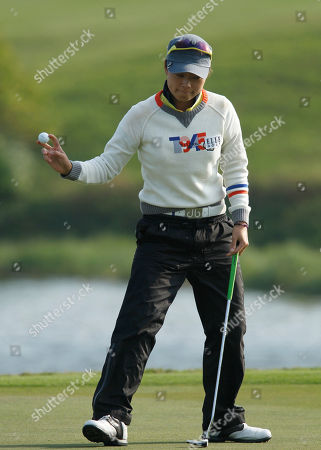 Sun Young Yoo Sun Young Yoo of South Korea collects her ball after finishing the 18th hole on the third day of the LPGA Taiwan Championship tournament at the Sunrise Golf & Country Club, in Yangmei, northern Taiwan. Yoo finished in second position with even par at 72