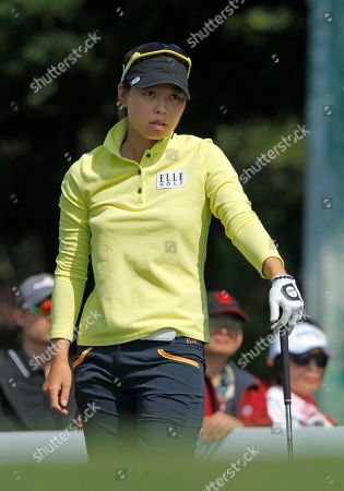 Sun Young Yoo Sun Young Yoo of South Korea, reacts to her tee off the 2nd hole during the last day of the LPGA Taiwan Championship tournament at the Sunrise Golf & Country Club, in Yangmei, northern Taiwan