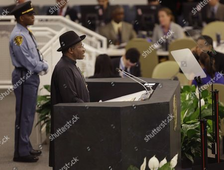 Goodluck Ebele Jonathan New York Nigerian President Goodluck Jonathan speaks during the 68th session of the General Assembly at United Nations headquarters
