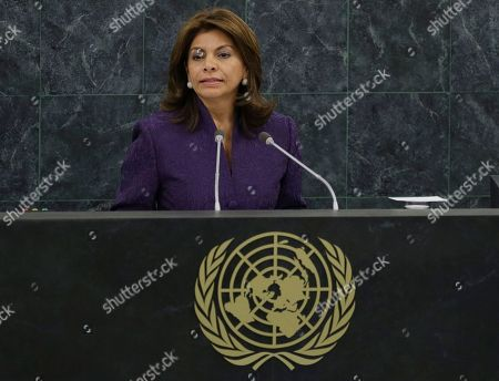 Laura Chinchilla Miranda New York The President of Costa Rica, Laura Chinchilla Miranda, addresses the 68th session of the United Nations General Assembly, at U.N. headquarters
