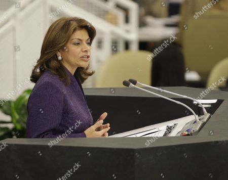New York, Laura Chinchilla Miranda Costa Rican President Laura Chinchilla Miranda speaks during the 68th session of the General Assembly at United Nations headquarters, at U.N. headquarters