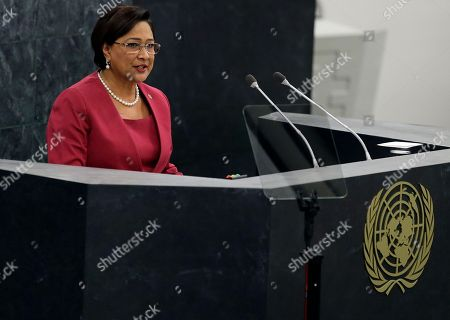 Kamla Persad-Bissessar, New York Trinidad and Tobago's Prime Minister Kamla Persad-Bissessar addresses the 68th session of the United Nations General Assembly, at U.N. headquarters