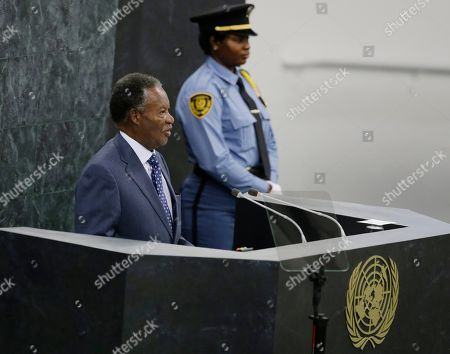 Michael Chilufya Sata New York Zambian President Michael Sata addresses the 68th session of the United Nations General Assembly, at U.N. headquarters