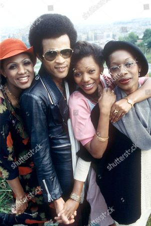 BONEY M - MAIZIE WILLIAMS, BOBBY FARRELL, MARSCIA BARRETT AND LIZ MITCHELL