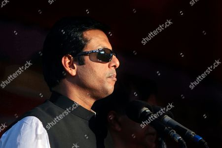 Sajeeb Wazed Joy, 42, the son of Bangladeshi Prime Minister Sheikh Hasina, speaks at an election campaign rally in Muktagacha, near Dhaka, Bangladesh. Political observers in Bangladesh say that given a few years Joy or Tarique Rahman, the 45-year-old son of opposition leader Khaleda Zia, could become prime minister of Bangladesh, which has been ruled by their two families since the country's 1971 independence from Pakistan. Joy and Rahman have emerged as the country's most powerful political heirs