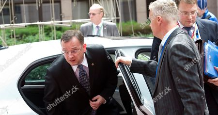 Petr Necas Czech Republic's Prime Minister Petr Necas, center, arrives for an EU summit in Brussels on . European Union leaders meet in Brussels ostensibly to agree on ways to find more jobs for the young, who've been disproportionately punished by years of crisis and recession