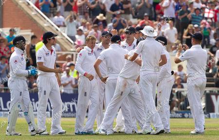 Editorial photo of Britain England Australia Ashes Cricket, Nottingham, United Kingdom