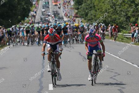 Editorial image of Cycling Tour de France, Lyon, France