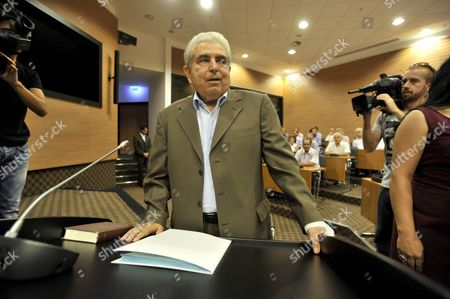 Dimitris Christofias Former president Dimitris Christofias prepares to testify at a judicial inquiry in Nicosia, Cyprus, . Most of the events the committee of inquiry is investigating took place when Christofias was president between March 2008 and February 2013