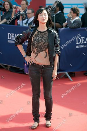 "Stock Photo of Linh-Dan Pham Actress Linh-Dan Pham arrives for the screening of the film ""The Butler"" at the 39th American Film Festival, in Deauville, Normandy, western France"