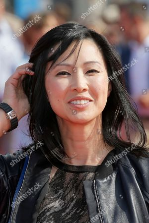 "Linh-Dan Pham Actress Linh-Dan Pham arrives for the screening of the film ""The Butler"" at the 39th American Film Festival, in Deauville, Normandy, western France"