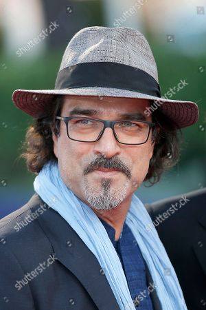 """Atiq Rahimi Author Atiq Rahimi arrives for the screening of """"Blue Jasmine"""" at the 39th American Film Festival, in Deauville, Normandy, western France"""