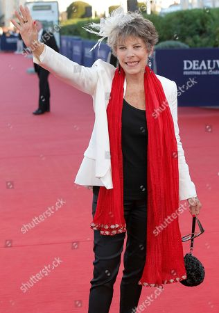 Dena Kaye, daughter of US comedian Danny Kaye, arrives at the 39th American Film Festival, in Deauville, Normandy, western France
