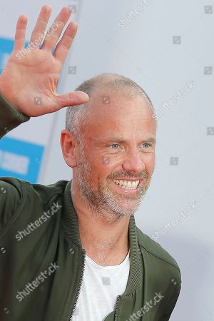 "Fredrik Bond Director Fredrik Bond arrives for the screening of his film ""The Necessary Death of Charlie Countryman"" at the 39th American Film Festival, in Deauville, Normandy, western France"