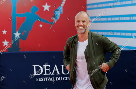 "Director Fredrik Bond arrives for the screening of his film ""The Necessary Death of Charlie Countryman"" at the 39th American Film Festival, in Deauville, Normandy, western France"