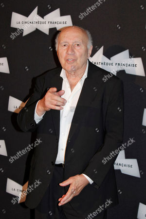 French actor Michel Piccoli poses for photographers, during a retrospective of his career, in Paris