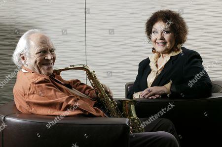 John Dankworth and Cleo Laine