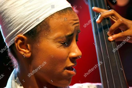 Esperanza Spalding American jazz bassist and singer Esperanza Spalding performs with pianist Geri Allen and drummer Terri Lyne Carrington, at the 5 Continents Jazz Festival, in Marseille, southern France, Tuesday, July 23? 2013