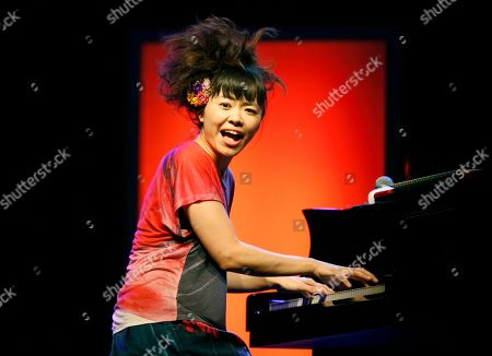 Hiromi Uehara Japanese jazz pianist Hiromi Uehara performs with the Hiromi Trio Project, at the Five Continents Jazz Festival, in Marseille, southern France
