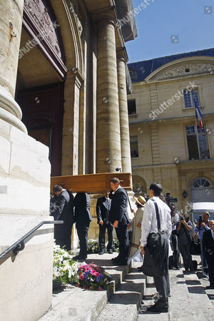 Editorial photo of France Verges Funeral, Paris, France