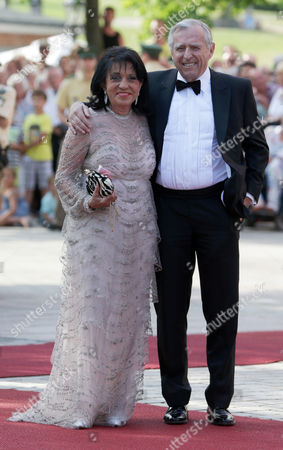 Erich Sixt Erich Sixt and his wife Regine arrive at the opening of the Bayreuth Opera Festival in Bayreuth, southern Germany, on