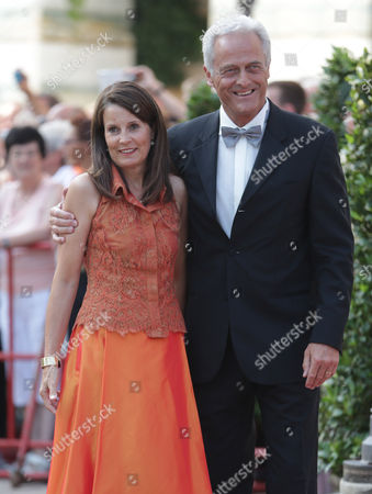 Peter Ramsauer German Traffic Minister Peter Ramsauer and his wife Susanne arrive at the opening of the Bayreuth Opera Festival in Bayreuth, southern Germany, on