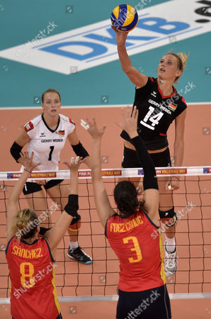 Editorial picture of Germany Volleyball European Championship, Halle, Germany