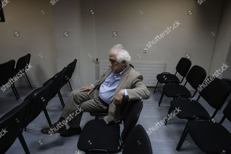 Antonis Roupakiotis Greek Justice Minister Antonis Roupakiotis waits before a meeting with the lawmakers of Democratic Left party and leader Fotis Kouvelis, in Athens, . Greece's shaky coalition government was reeling Friday after one of its junior partners rejected a crucial compromise deal on the future of the state broadcaster and concerns over the country's bailout intensified. The latest pressure on the country comes after one of the junior partners in the coalition, the Democratic Left, rejected a compromise deal over last week's surprise decision by conservative Prime Minister Antonis Samaras to close public broadcaster ERT. The other junior partner, socialist Pasok, accepted the deal