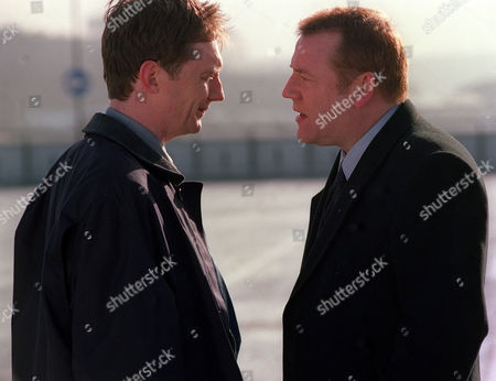 'Tough Love' - 2000  Ds Connolly (Colin Tierney) From the Police Complaints Division Tells Dc Lenny Milton (Ray Winstone) to Calm Down.