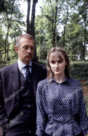 Roy Marsden and Rebecca Saire in 'A Taste For Death' -