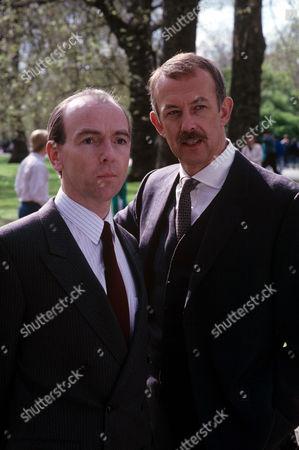 Bosco Hogan (left) and Roy Marsden in 'A Taste For Death' - 1988