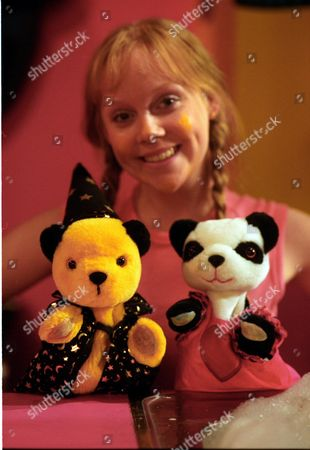 'Sooty Heights'   TV Vicki Lee Taylor with Sooty and Soo.