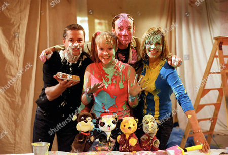 'Sooty Heights'   TV Puppets are Butch, Soo, Sooty and Sweep with Vicki Lee Taylor and Richard Cadell. With Carol Smillie and Andy Cane