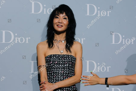 Maggie Cheung Hong Kong actress Maggie Cheung poses during a promotional event for a fashion brand in Hong Kong