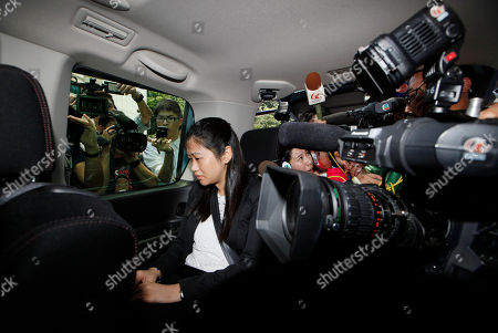 """Polly Lon Pui-chun Former fung shui practitioner Tony Chan Chun-chuen's daughter Polly Lon Pui-chun sits in a van after her father had been convicted and fined at the High Court in Hong Kong, . The former lover of quirky billionaire Nina Wang has been sentenced to 12 years in prison after a Hong Kong court found him guilty of forging her will to claim her multibillion-dollar estate. A High Court judge on Friday called Peter Chan, formerly known as Tony Chan, """"shameless"""" and """"wicked"""" for taking advantage of Wang's trust in him. Chan is a former feng shui master who changed his name from Tony after converting recently to Christianity"""