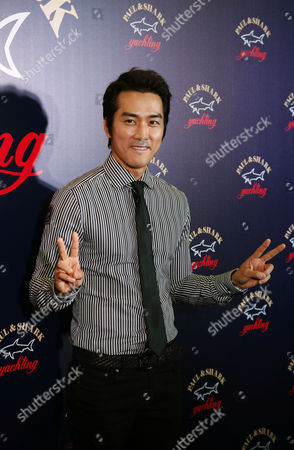 Song Seung-heon South Korean actor Song Seung-heon poses during a promotional event of Italian fashion brand store Paul & Shark in Hong Kong