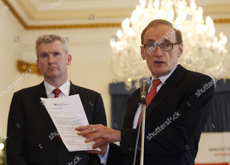 Bob Carr, Tony Burke Australian Foreign Minister Bob Carr, right, speaks as Australian Immigration Minister Tony Burke, left, listens during a press conference following a special conference on Irregular Movement of Persons, in Jakarta, Indonesia