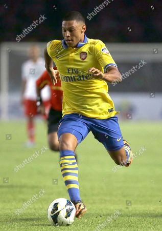 Editorial photo of Indonesia Soccer Arsenal, Jakarta, Indonesia