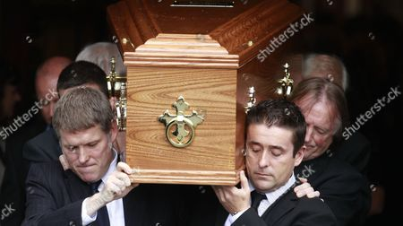 Editorial picture of Ireland Heaney Funeral, Dublin, Ireland