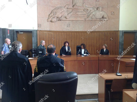 Editorial image of Italy Berlusconi Trial, Milan, Italy