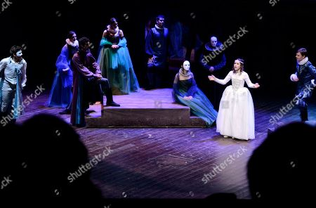 Editorial picture of Italy Globe Theatre Anniversary, Rome, Italy